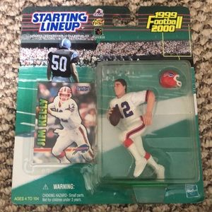 Starting lineup collectibles Jim Kelly 1999